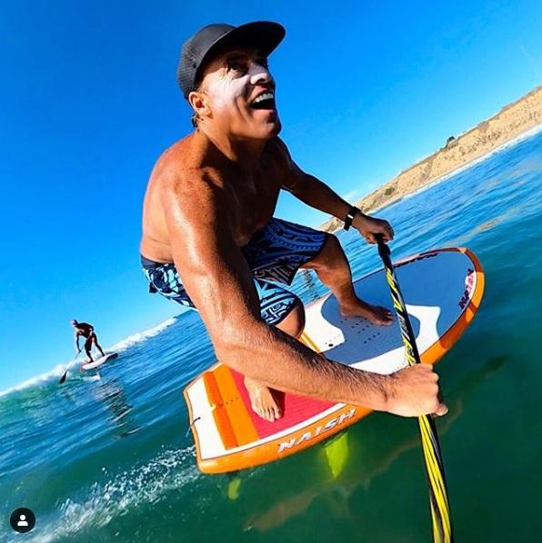 Chuck Patterson als rolmodel voor gebruik zonnevbandcreme voor extreme watersporters