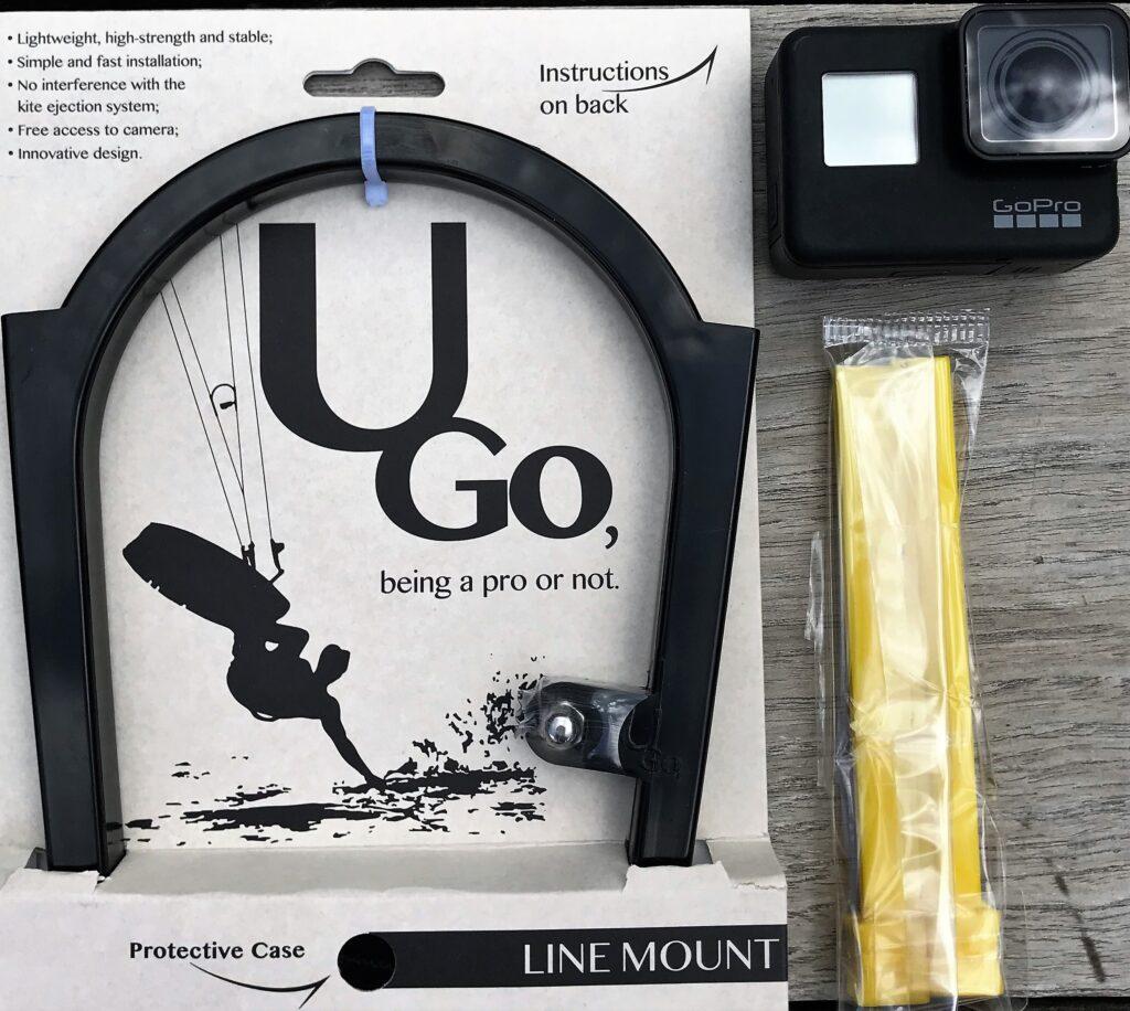 u.go line-mount kitesurfen gopro