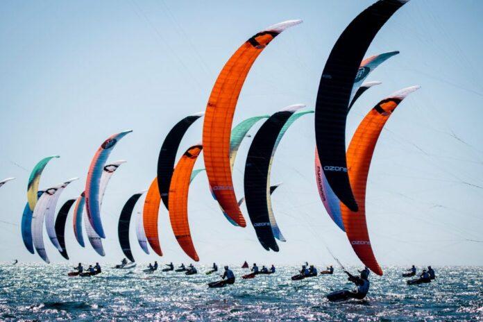 Kitesurfen Olympische Sport