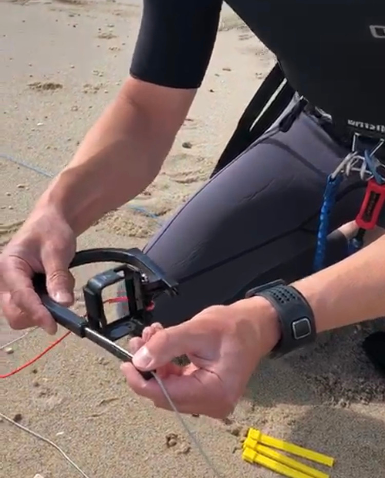 review-kitesurfen-met-ugo-line-mount-en-gopro