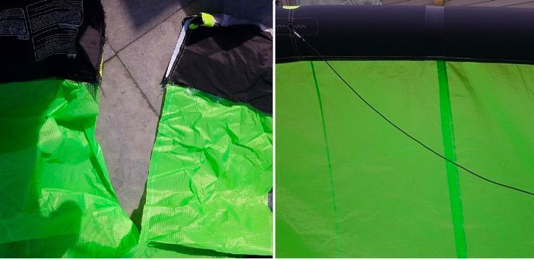 kite-repareren-scheur-doek-reparatie-plakken-vakkundig