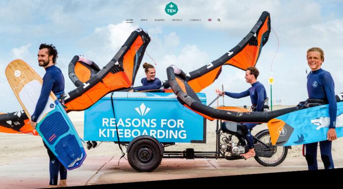 Nederlands kitesurf merk Ten Kiteboarding