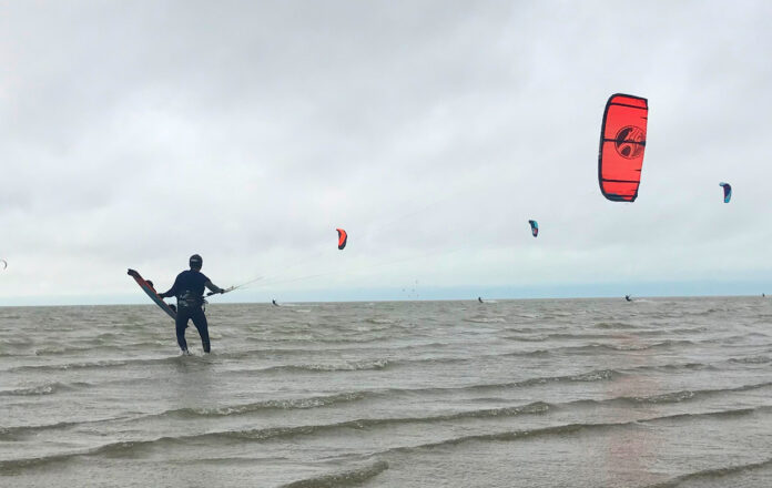 Kitesurfen november